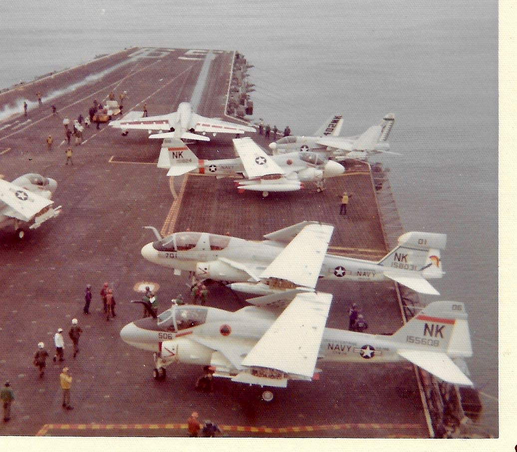1972 3rd Class Cruise on CVA(n) 65 USS Enterprise