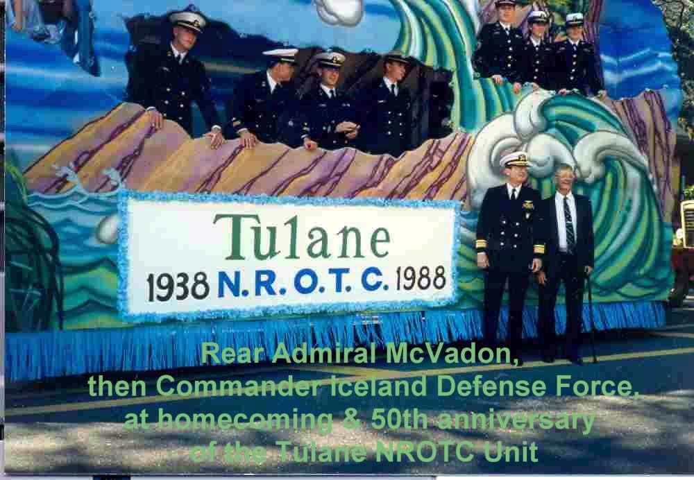 Eric A. McVadon - Class of 1958 - RADM, USN (Ret.)