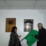 Unveiling the Memorial Plaque