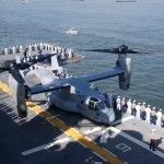 V-22 Osprey on LHD-7