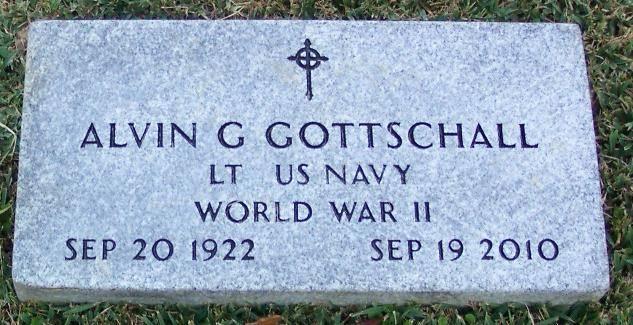 Alvin G. Gottschall - Class of 1943