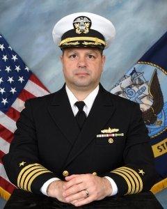 Captain Daniel Senesky USN Tulane Naval ROTC Unit Commander