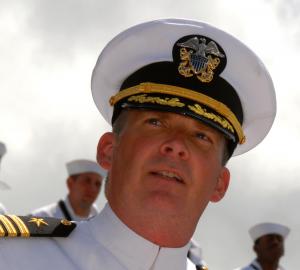 Captain Patrick Huete USN