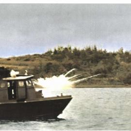 Swift Boat 70 Shelling