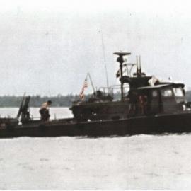 Swift Boat 70 Underway