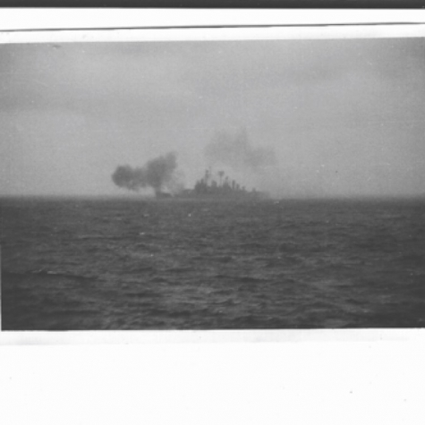 Canberra firing at NVA Gun Emplacements