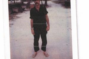 Pelletier at ARVN base