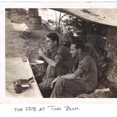 Pelletier at Tinh Binh