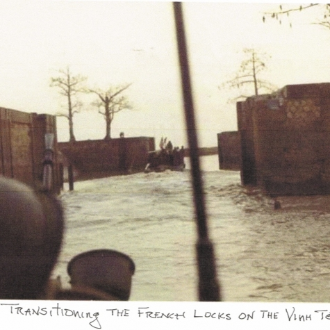 Transversing French Canal