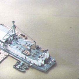 Repair Berthing and Messing Barge
