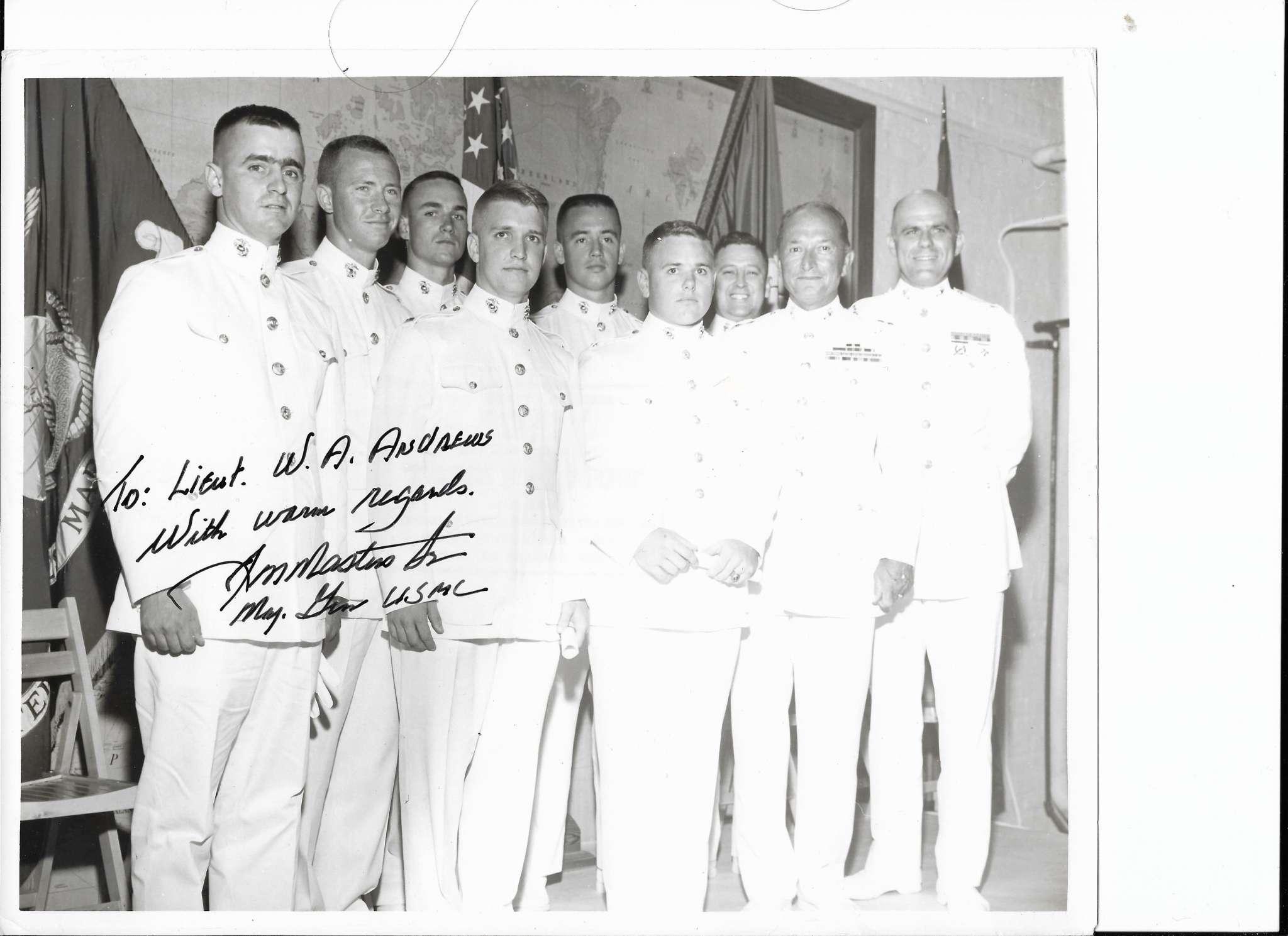 Tulane Naval ROTC USMC Class of 1965