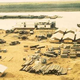Solid Anchor Seebee Base on Cau Lon River
