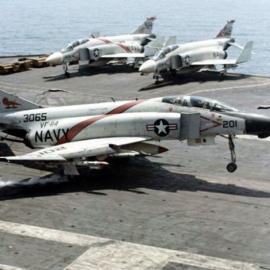 F4B VF-114 on Kitty Hawk