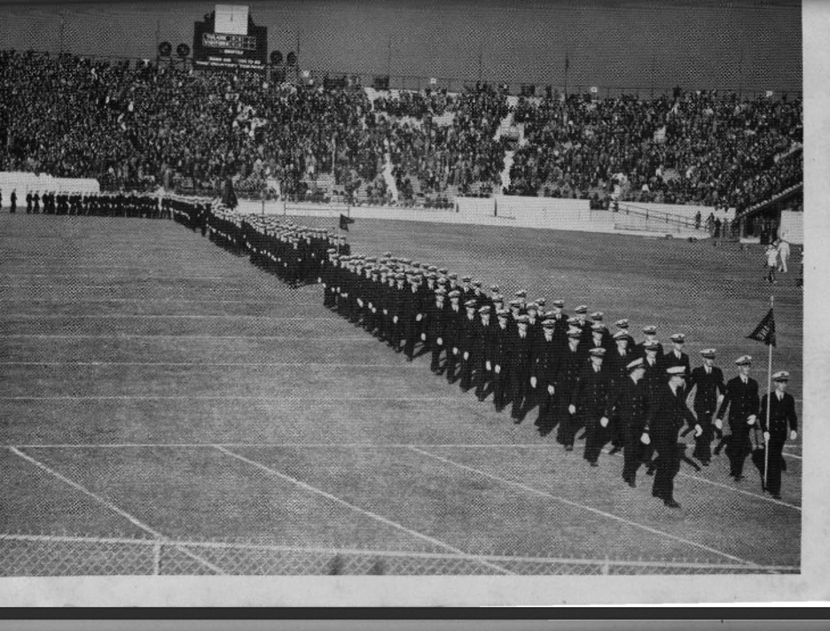 Tulane NROTC March-on 1941