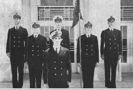 NROTC Officers 1945